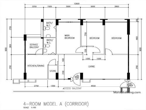 288E Bukit Batok Street 25 Resale 4 Room HDB for Sale 5