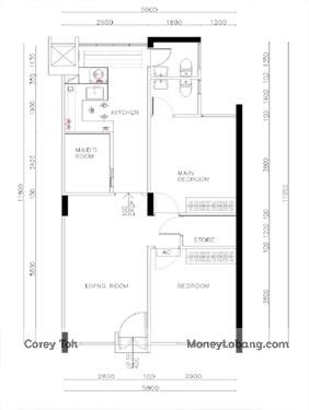332 Ang Mo Kio Avenue 1 Resale 3 Room HDB for Sale 5