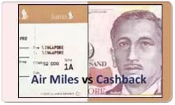 Air Miles Rewards vs Cash Back Credit Cards