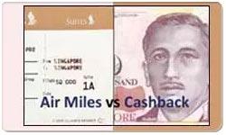 Air Miles Rewards vs Cash Back Credit Cards