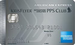 American Express SIA PPS Club Platinum Credit Card