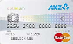 ANZ Optimum World MasterCard Card