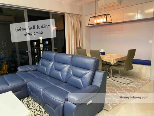 Boathouse Residences 25 Upper Serangoon View 3 Room Condo for Sale