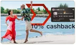 CIMB Visa Signature Card Review Singapore 2019