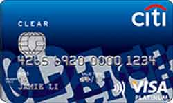 Citibank Clear Platinum Card