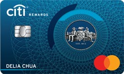 Citibank Rewards Visa / MasterCard Card
