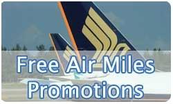 Singapore Credit Cards Signup Free KrisFlyer Air Miles Promotion Comparison