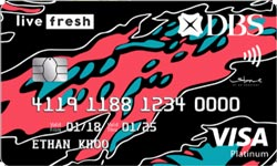 DBS Live Fresh Card