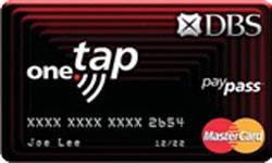 DBS One.Tap MasterCard PayPass Card