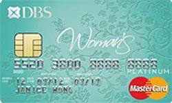 DBS Womans Platinum MasterCard Card