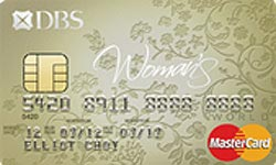 DBS Womans World MasterCard Card