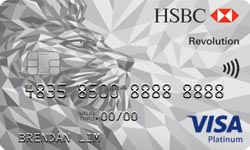 HSBC's Revolution Credit Card