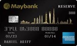 Maybank 2 Cards Premier Reserve American Express
