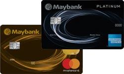 Maybank 2 Platinum Cards Maybank 2 Gold Cards