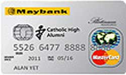 Catholic High Alumni Platinum Associates Card