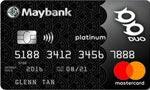 Maybank DUO Platinum MasterCard