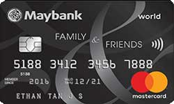 Maybank Family and Friends Card