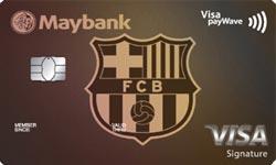Maybank FC Barcelona Visa Signature Credit Card
