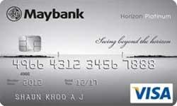 Maybank Horizon Platinum Visa Card