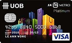 Metro-UOB Card
