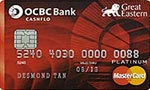 OCBC Great Eastern Cashflo Credit Card