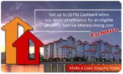 Singapore Property Loan Cashback Promotion