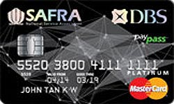SAFRA DBS Platinum Credit Card