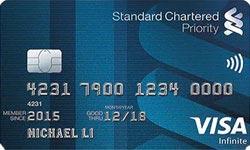 Standard Chartered Priority Visa Infinite Credit Card