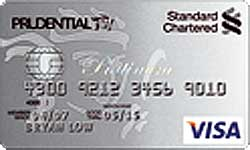 Standard Chartered Prudential Platinum Credit Card