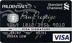 Standard Chartered PruPrestige Visa Signature