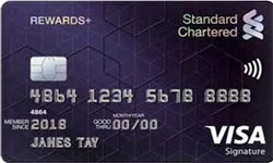 Standard Chartered Rewards Plus Credit Card