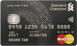 Standard Chartered Unlimited Cashback Card