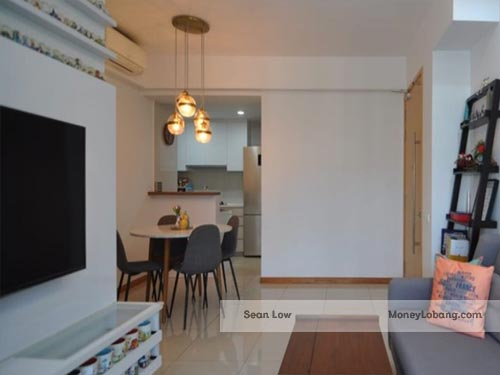 The Tampines Trilliant 29 Tampines Central 7 3 Rooms Executive Condo for Sale