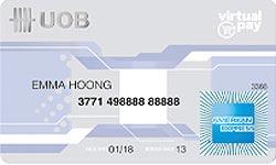 UOB American Express Virtual Pay Card Account
