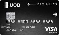 UOB PRVI Miles Visa Signature Card